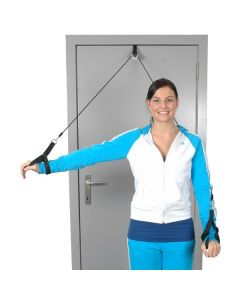 MoVeS Shoulder Rope Pulley with Hand Supports